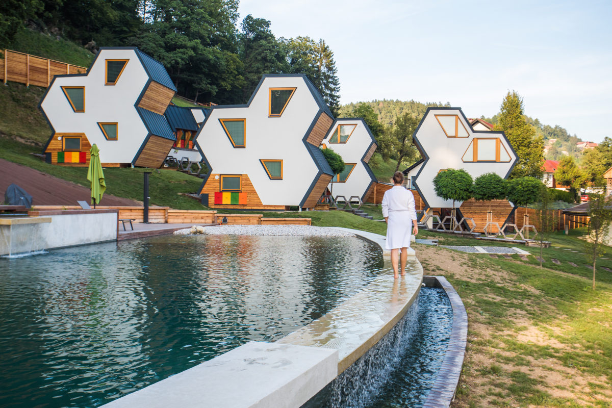 Travel to Slovenia, glamping