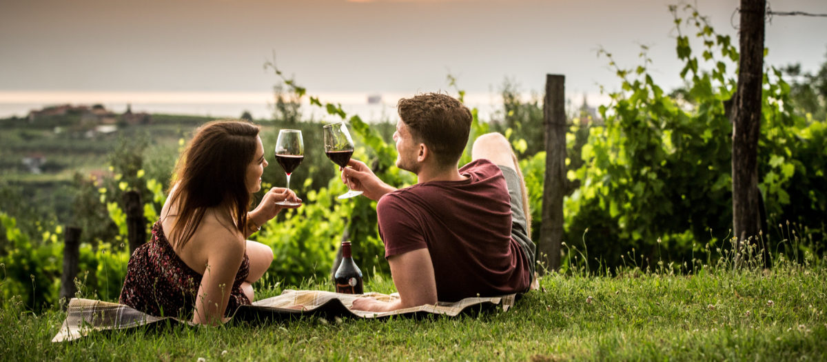 Romantic trip to Slovenia, slovenian wine