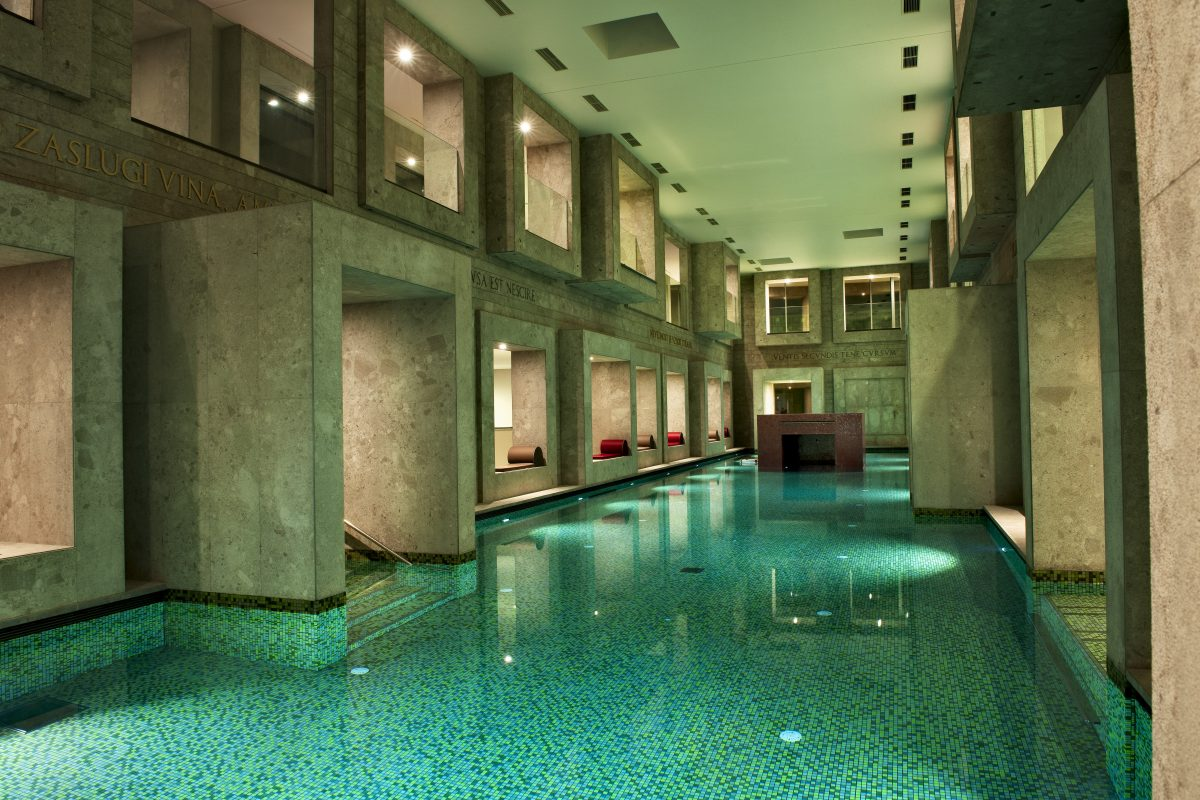 Slovenian spa, wellness