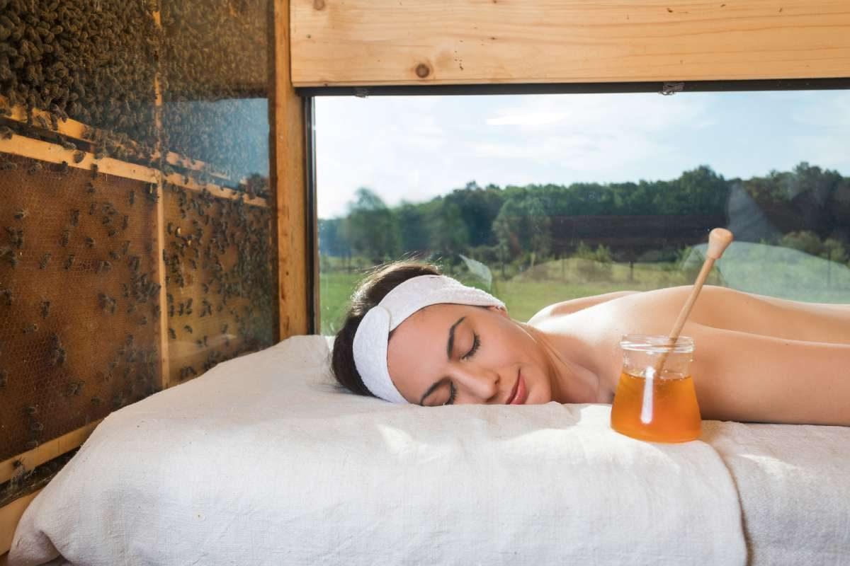 Glamping de miel, masaje de miel, Eslovenia