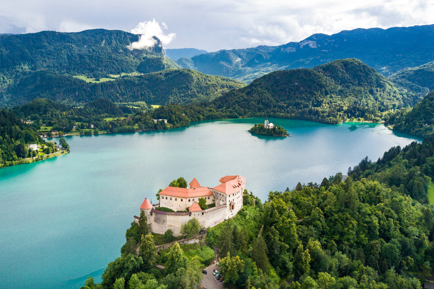 Viaje cultural por Eslovenia, Lago de Bled