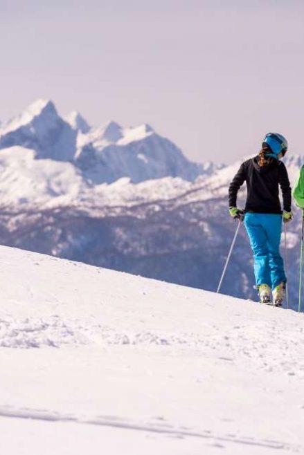 Esquiando en Eslovenia