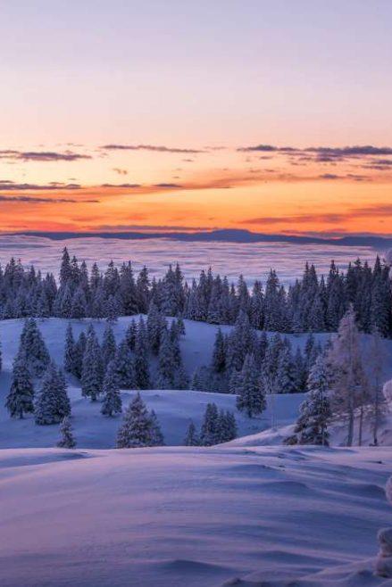 Invierno en Eslovenia
