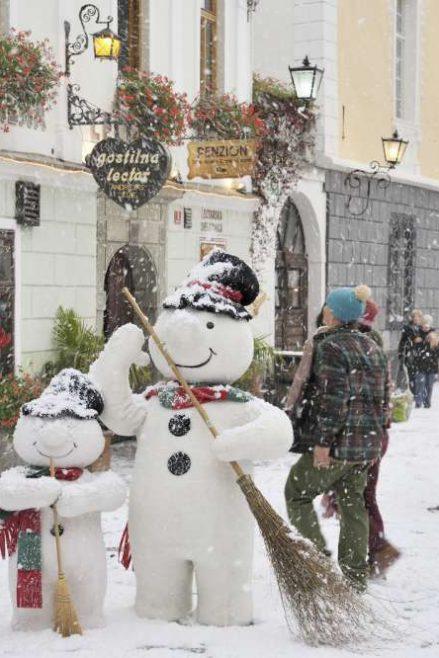 Radovljica, invierno en Eslovenia