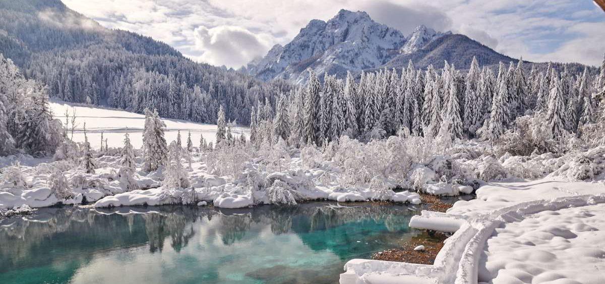 Los Alpes eslovenos en invierno