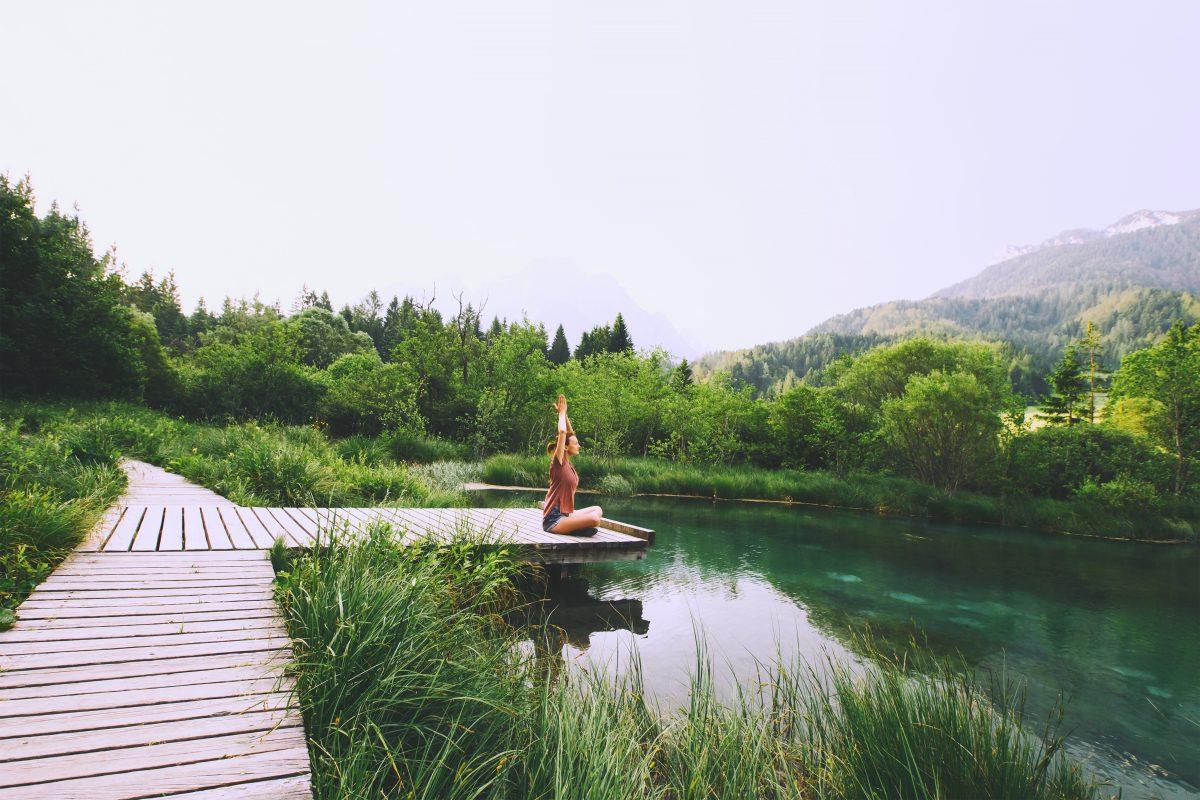 Yoga en naturaleza, Eslovenia