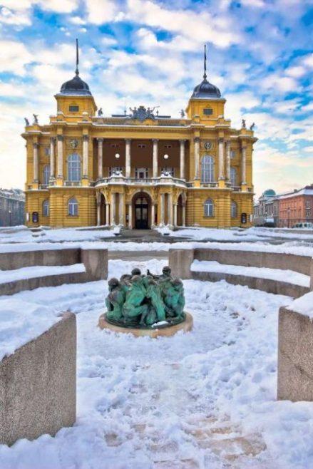 Zagreb en invierno