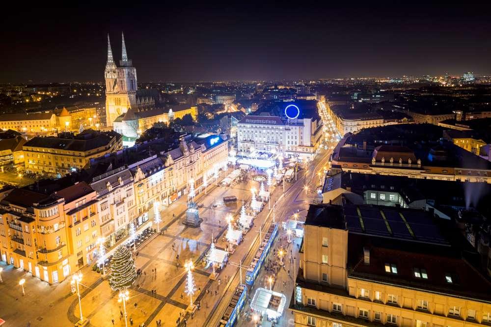 Mercadillos navideños en Croacia