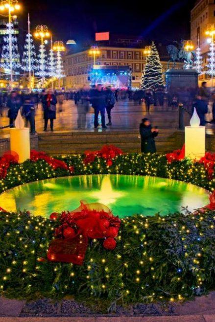 El mercado de Navidad en Zagreb