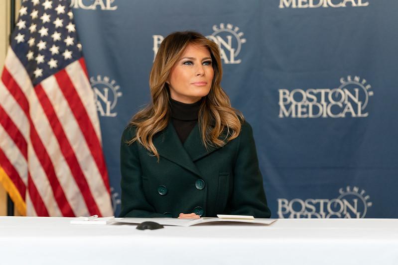 Eslovenos famosos - Melania Trump