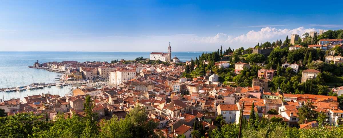 Eslovenos famosos - la ciudad de Piran