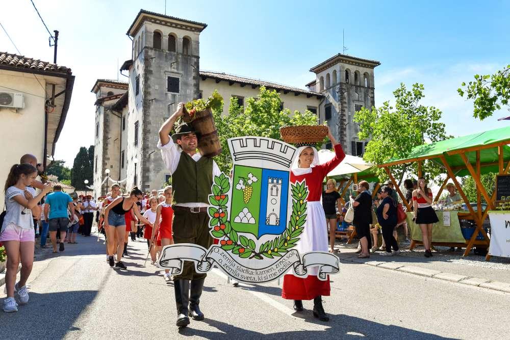 Fiesta de cerezas, Eslovenia