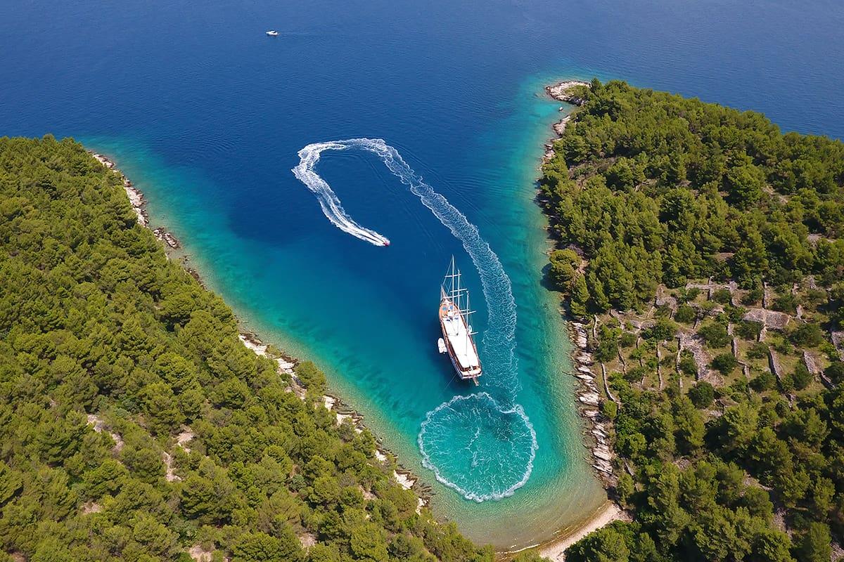 Goletas de lujo en Croacia - Dolce Vita