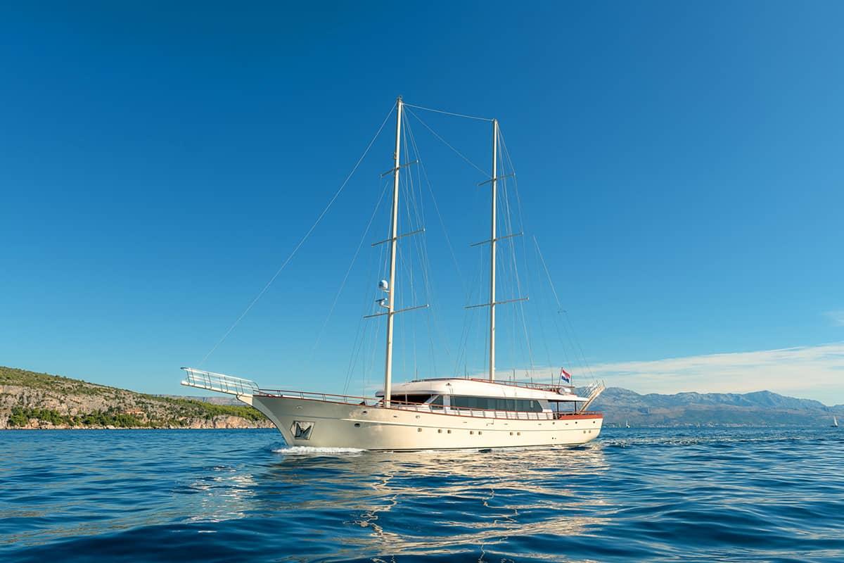 Goletas de lujo en Croacia - Son de Mar