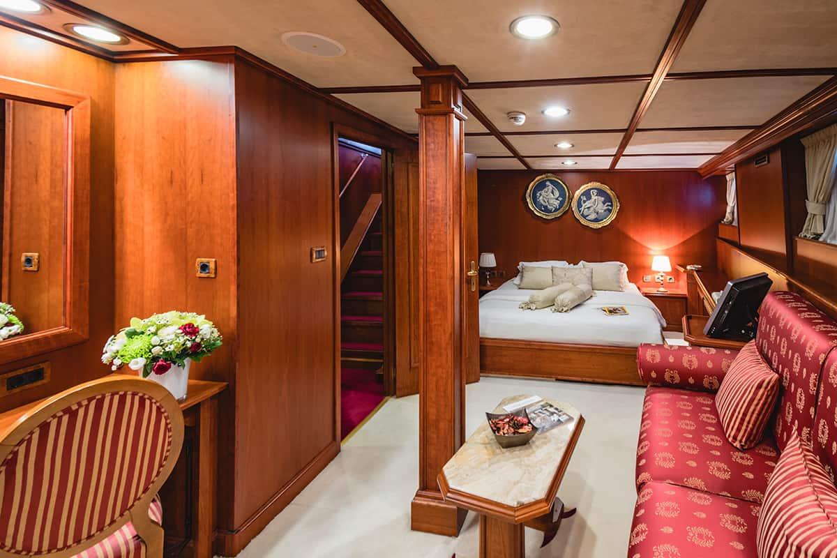 Seagull 2 - cabina
