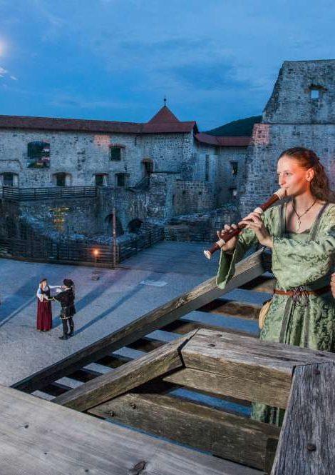 Medieval MICE events, Grad Žuženberk, Slovenia, photo - www.slovenia.info, Jošt Gantar