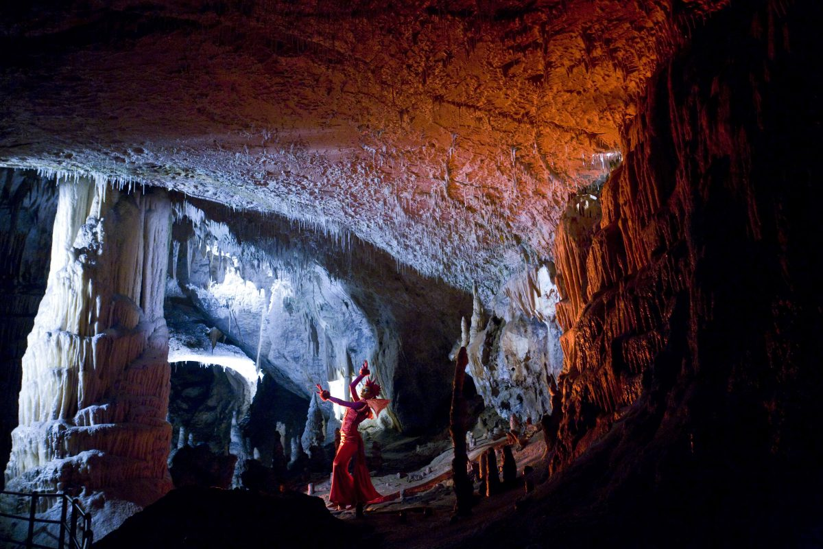 Special events in a cave, Slovenia, photo - archive Postojna cave