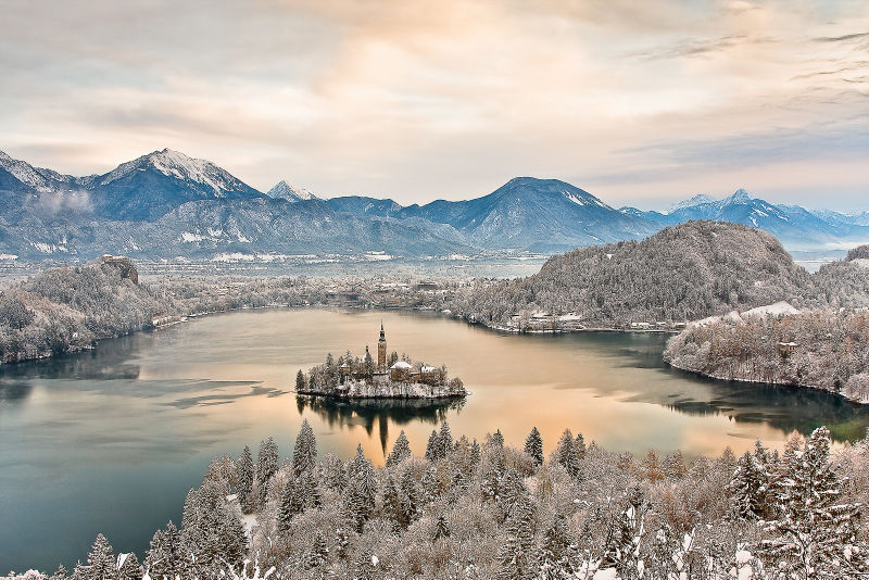 Visit Bled in Winter