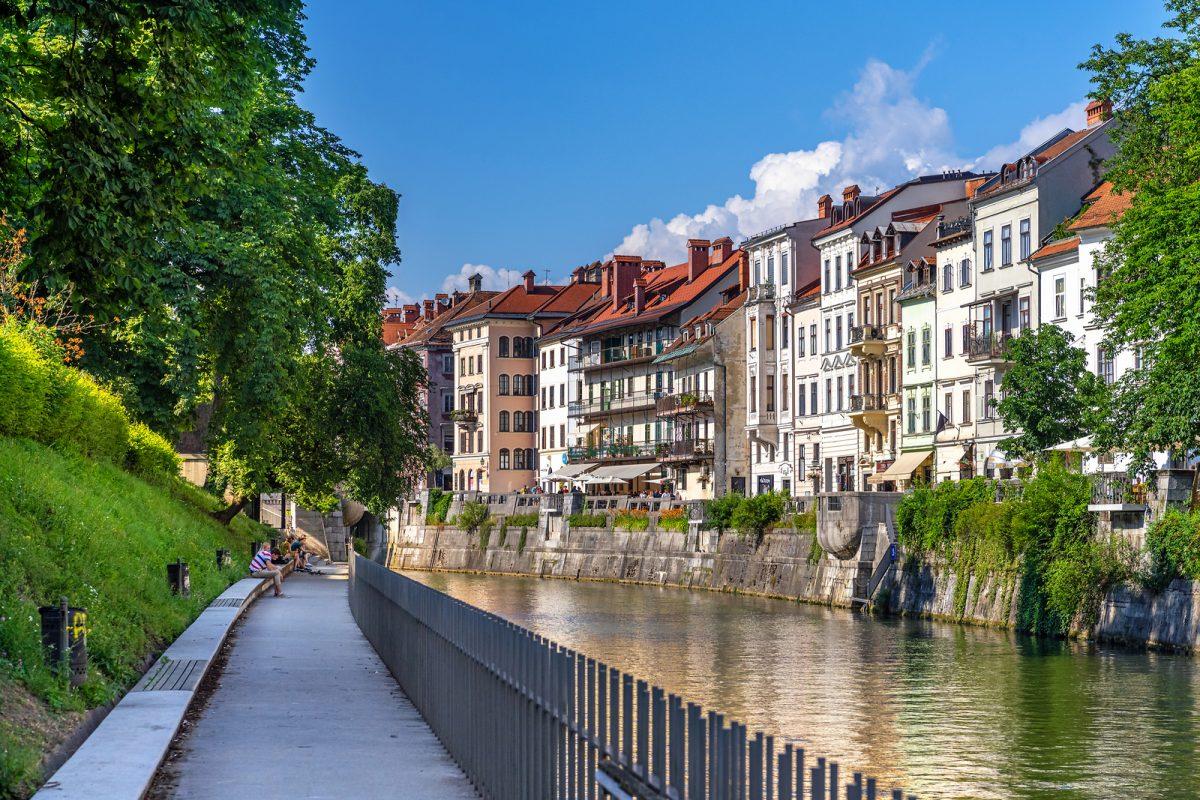 Viaje a Liubliana en Eslovenia