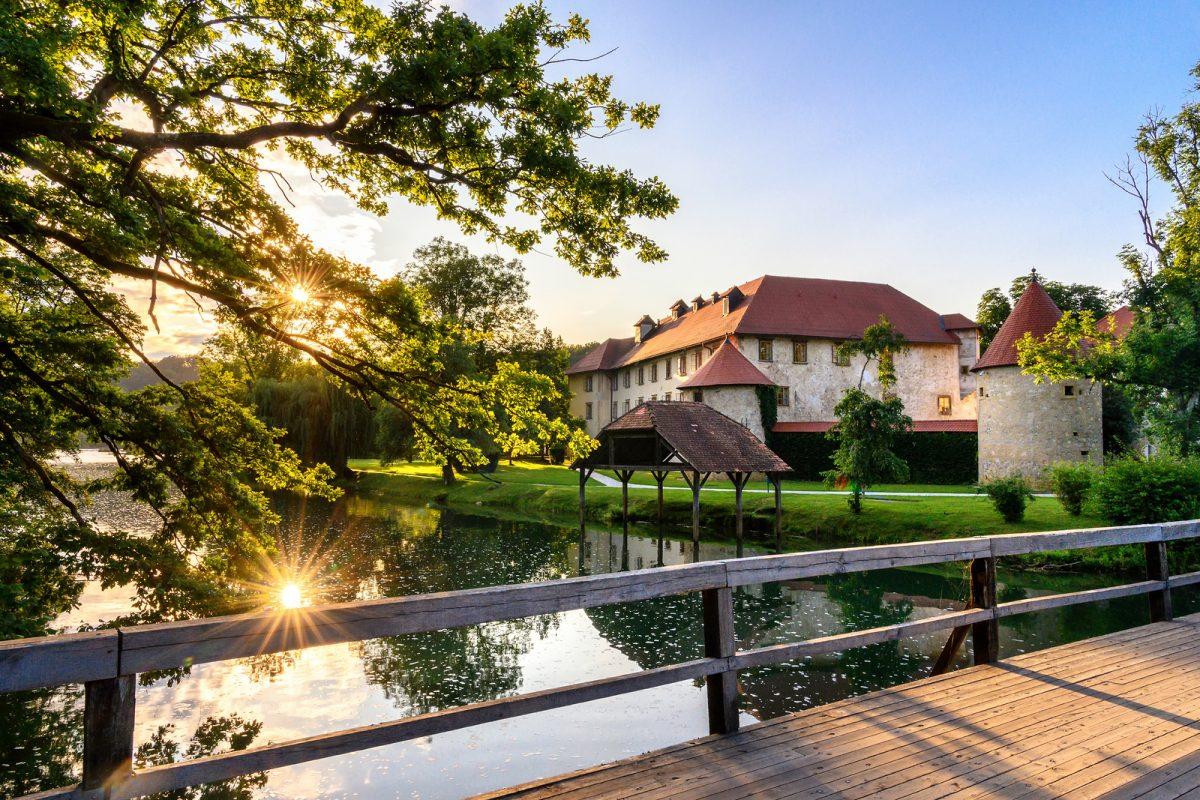 Boda en el castillo de Otoces, Eslovenia
