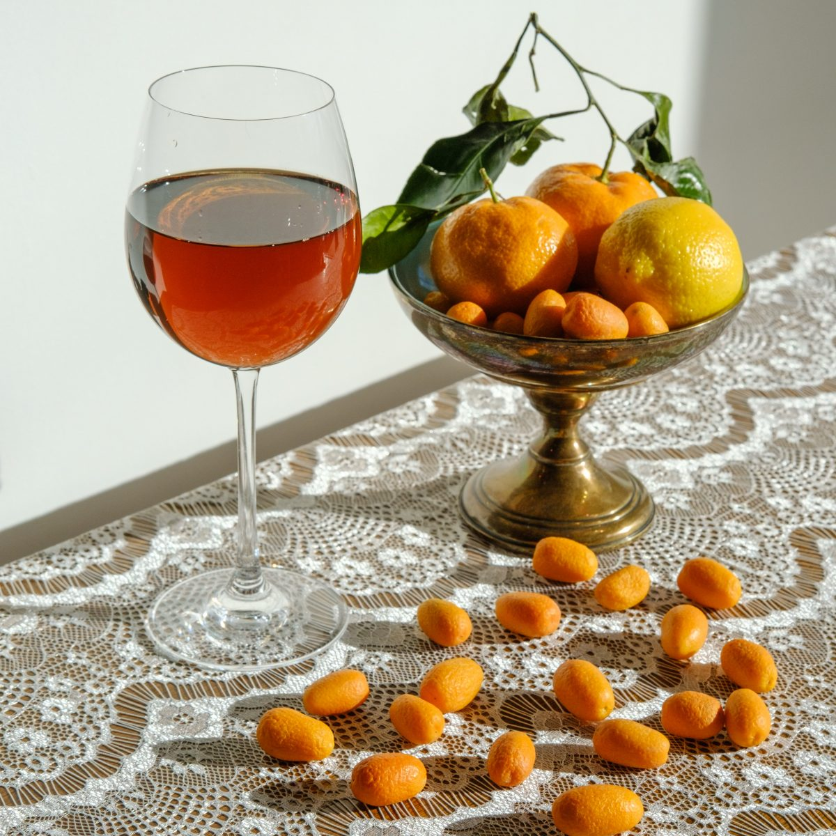 Vino naranja de Eslovenia
